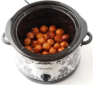 Easy Crockpot Sweet and Sour Meatballs