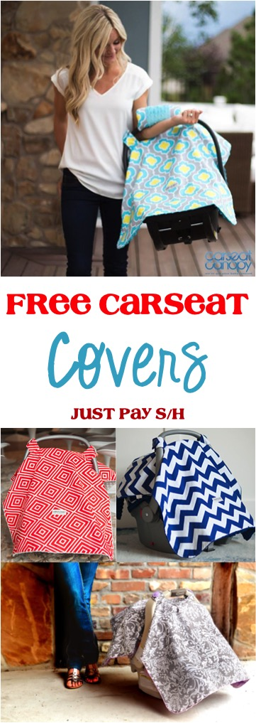 FREE Carseat Covers for Babies at TheFrugalGirls.com