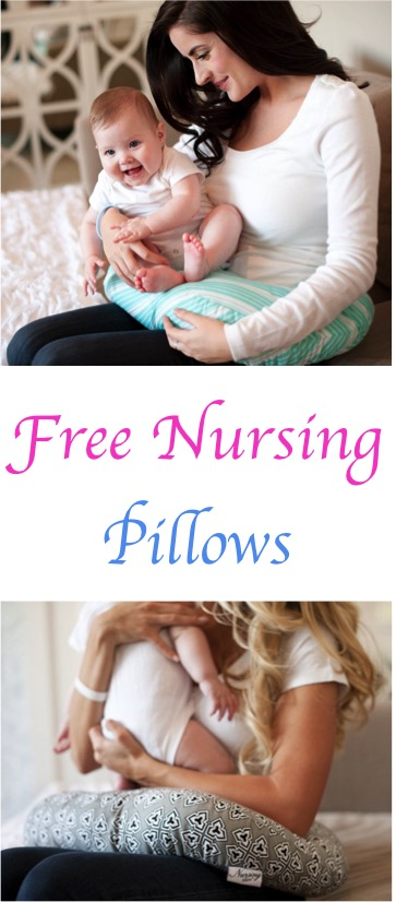 FREE Darling Nursing Pillows at TheFrugalGirls.com