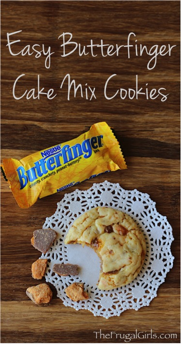 Butterfinger Cookie Recipes from TheFrugalGirls.com