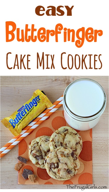 Butterfinger Cookies from TheFrugalGirls.com