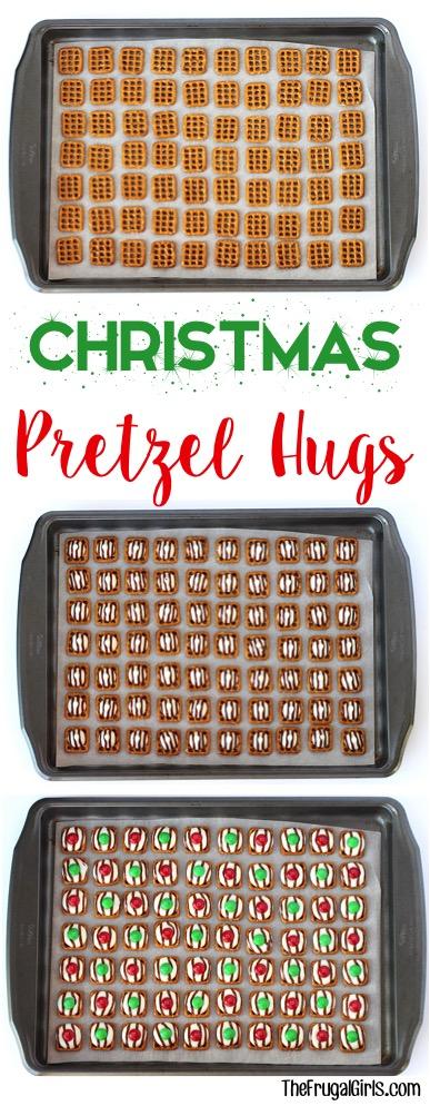 Pretzel Hug Recipe at TheFrugalGirls.com