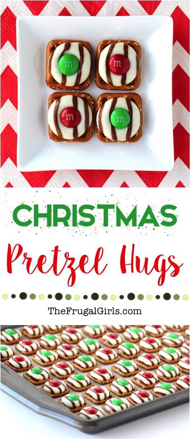 Pretzel Hugs Recipe at TheFrugalGirls.com