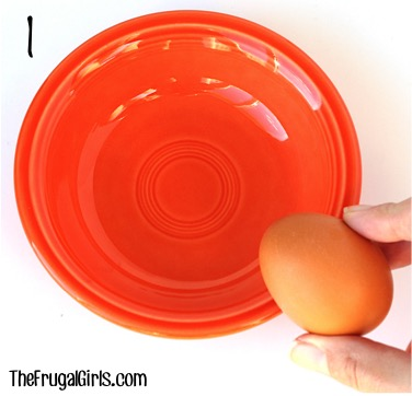 How to Separate Eggs - Tip at TheFrugalGirls.com