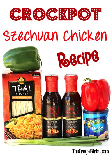 Slow Cooker Szechuan Chicken Recipe at TheFrugalGirls.com