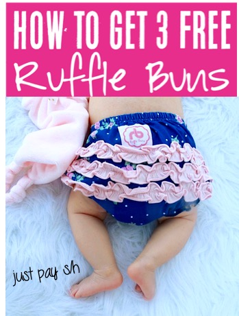 Baby Shower Ideas - Ruffle Buns Diaper Covers Gift Idea