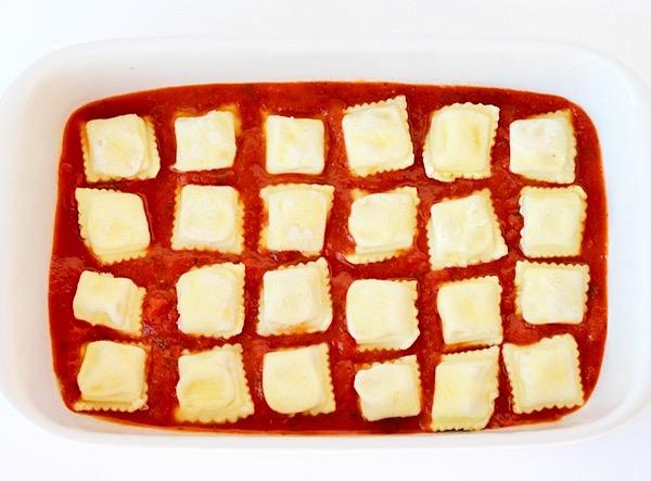 Baked Cheese Ravioli Recipe