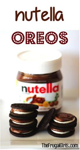 Nutella Oreos Recipe