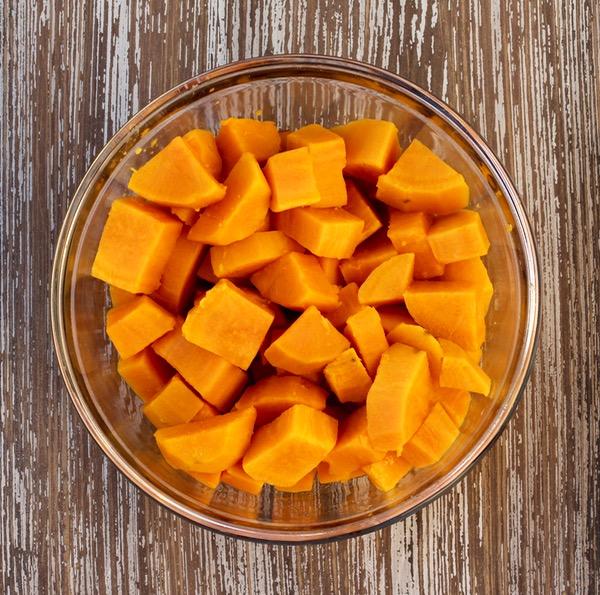 Baby Food Recipe Sweet Potatoes at TheFrugalGirls.com