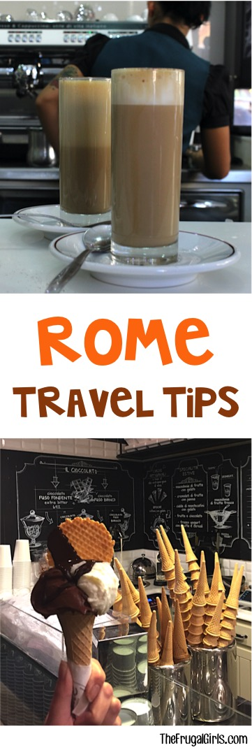 Top Rome Italy Food and Coffee Tips from TheFrugalGirls.com