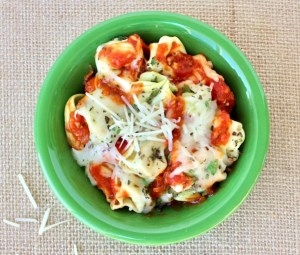 Crockpot Cheese Tortellini Recipe