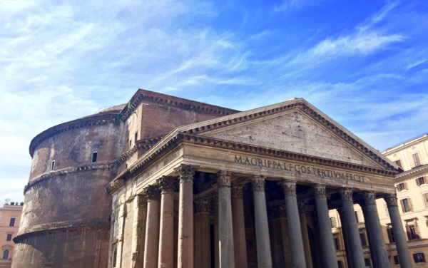 Top Rome Italy Travel Tips for the Pantheon from TheFrugalGirls.com