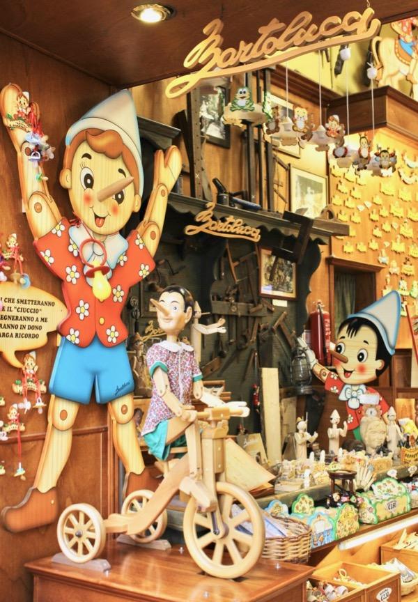 Rome Pinocchio Shop Bartolucci