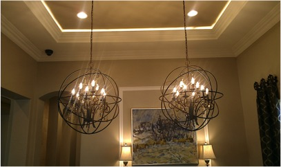 Stunning Dining Room Ideas - Crown Moulding