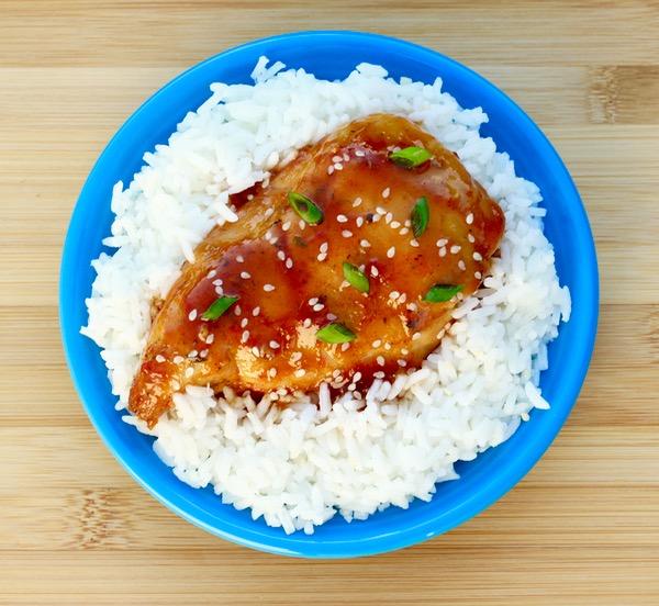 Crock Pot Honey Garlic Chicken from TheFrugalGirls.com