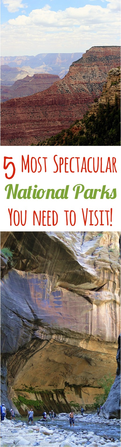 Most Spectacular National Parks you Need to Visit - from TheFrugalGirls.com