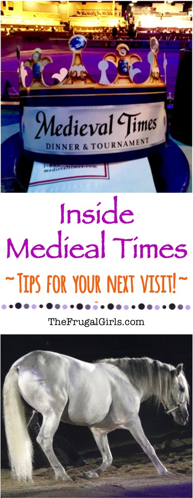 Inside Medieval Times Tips for your Next Visit - from TheFrugalGirls.com