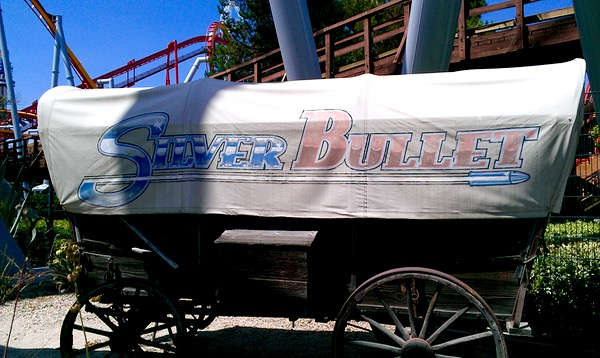 Knotts Berry Farm Silver Bullet