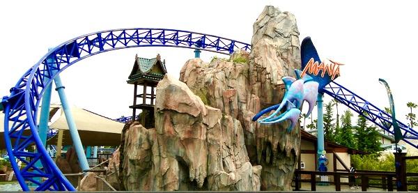 SeaWorld Manta Roller Coaster