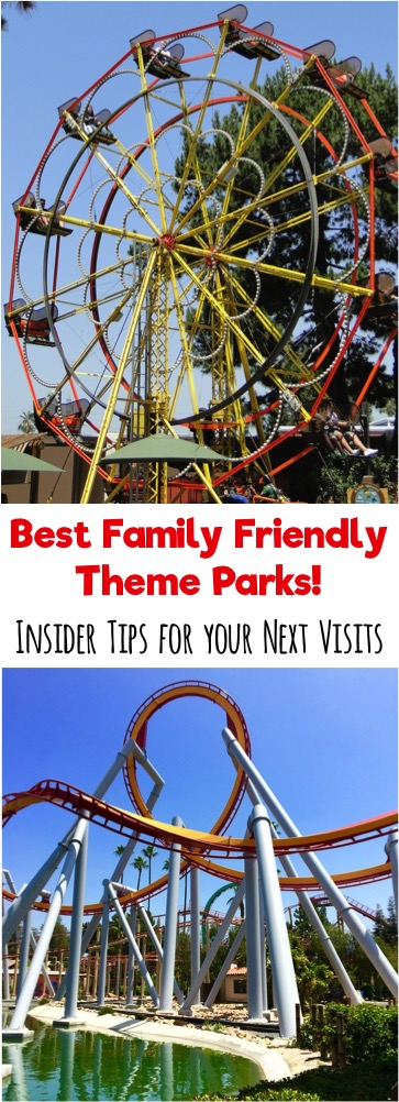 Best Family Friendly Theme Parks - Insider Tips for your Next Visit from TheFrugalGirls.com