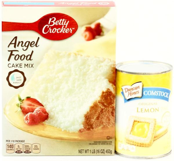Lemon Squares 2 Ingredients Recipe at TheFrugalGirls.com