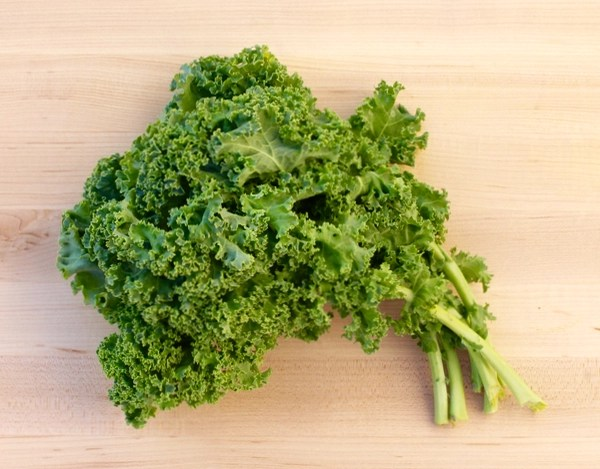 Garlic Parmesan Kale Chips Recipe at TheFrugalGirls.com