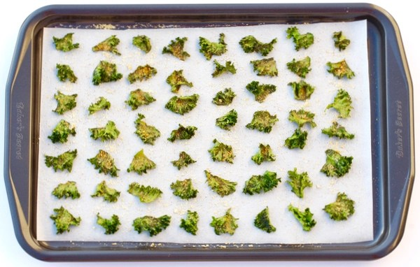 Garlic Parmesan Kale Chips Recipe