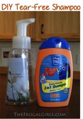 How to Make Foaming Shampoo
