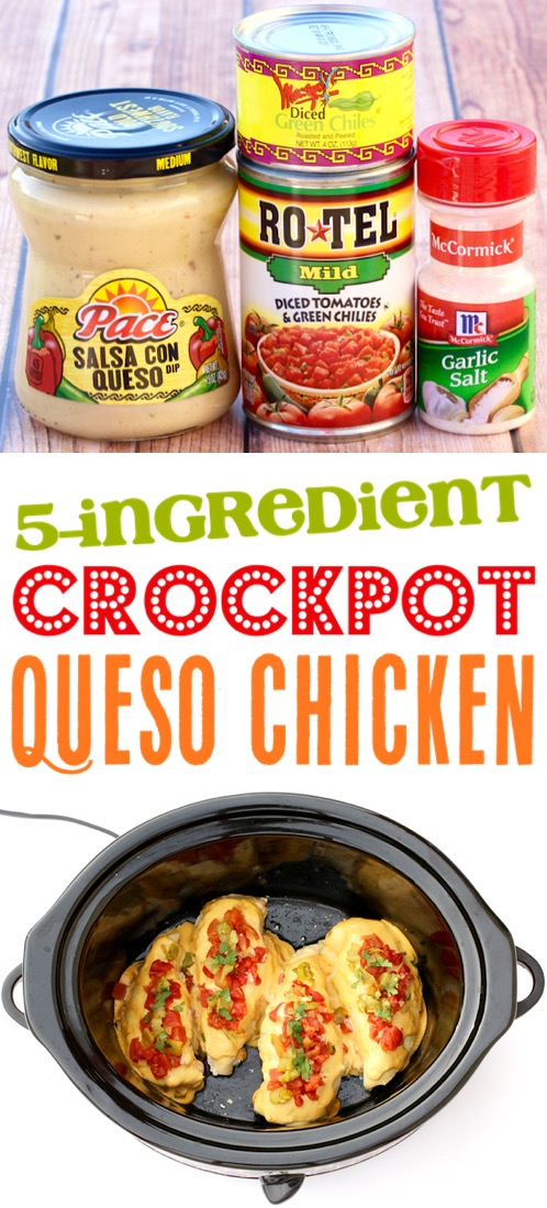 Crockpot Chicken Recipes Easy Mexican Queso Slow Cooker Chicken Dinner Recipe