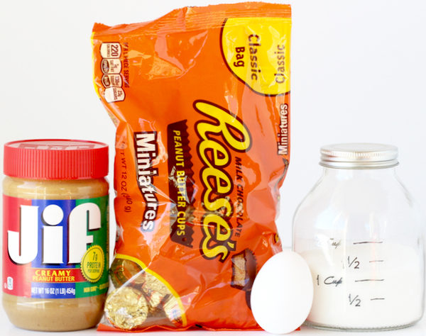 Peanut Butter Cup Cookie Recipe from TheFrugalGirls.com