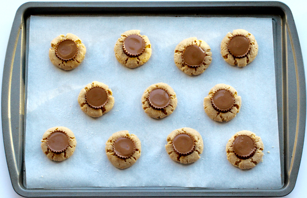 Peanut Butter Cup Cookies from TheFrugalGirls.com