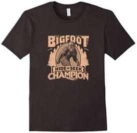 Bigfoot Hide & Seek Champion T-Shirt