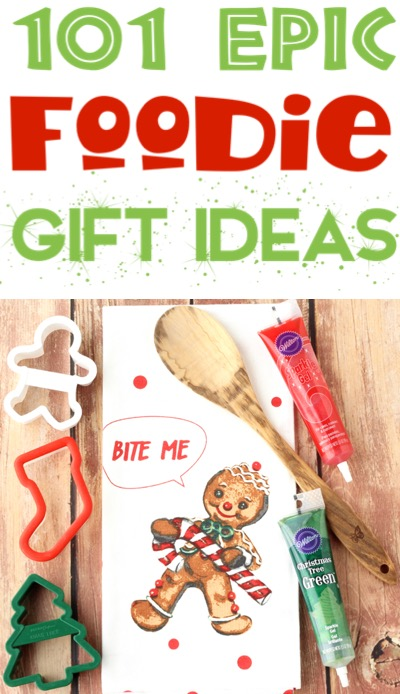 Foodie Gifts Ideas for Christmas