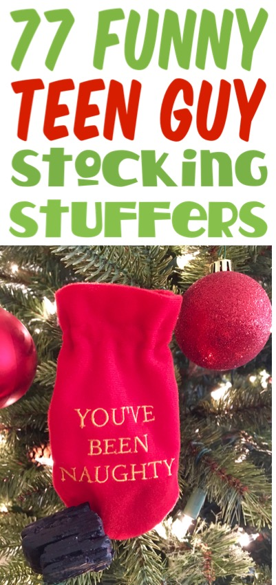 Stocking Stuffers for Teens Funny Gifts your Young Men Teenagers will LOVE
