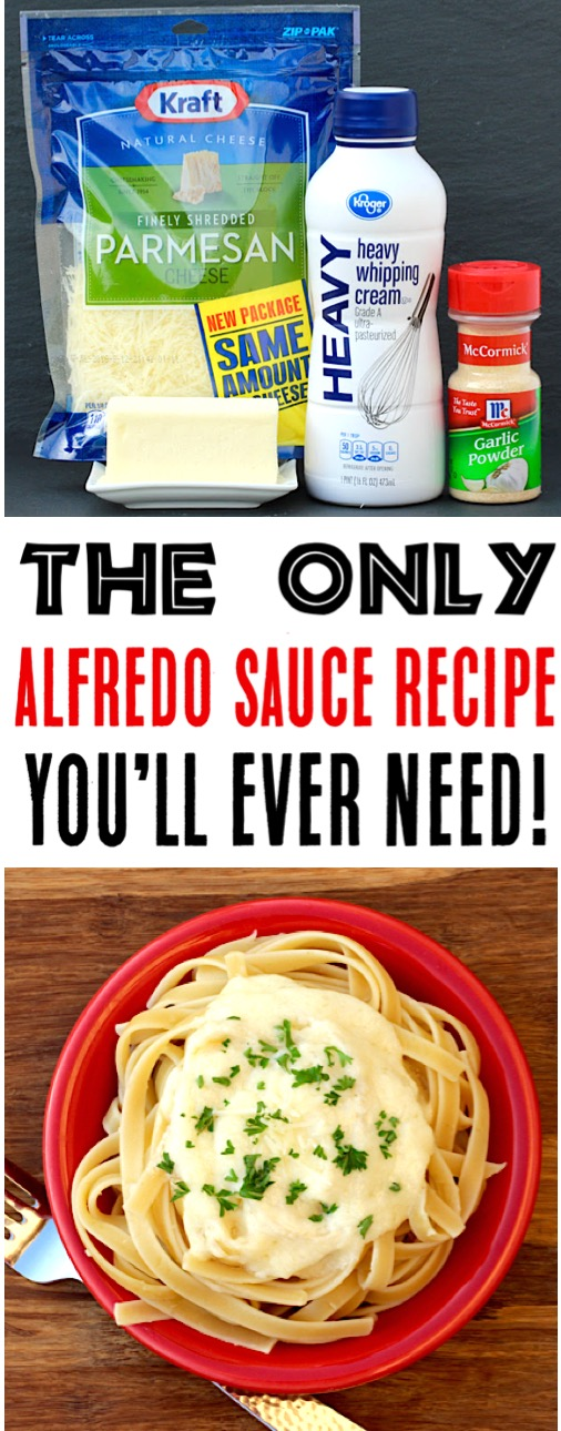 Alfredo Sauce Recipe Easy Homemade Garlic Alfredo Sauce Recipes - Just 5 Ingredients