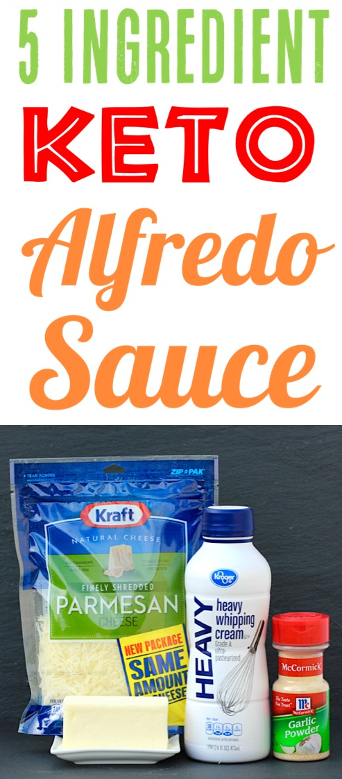 Keto Alfredo Sauce Low Carb Recipe