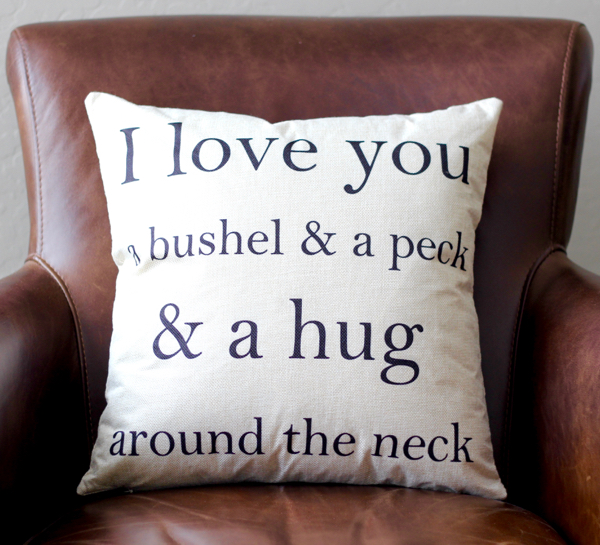 Love Decorative Pillow Covers