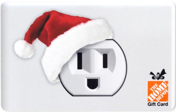 Home Depot Christmas Gift Card
