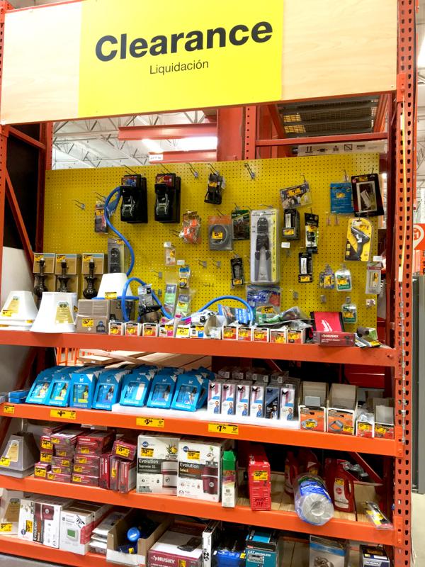 Home Depot Clearance Deals