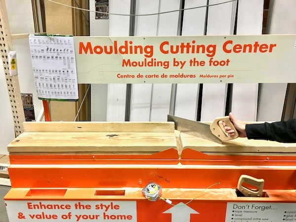 Home Depot Free Wood Cutting Center