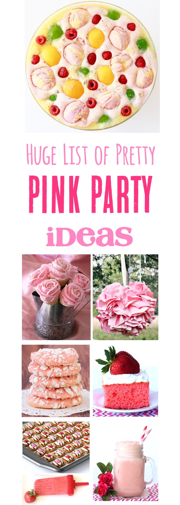 Pink Party Ideas - at TheFrugalGirls.com