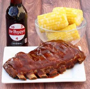 Crockpot BBQ Pork Ribs Recipe! {Dr. Pepper} from TheFrugalGirls.com