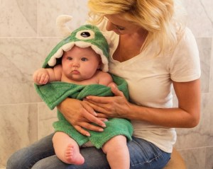 Free Baby Towels with Hoods at TheFrugalGirls.com