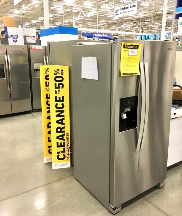 Lowes Appliances Sale