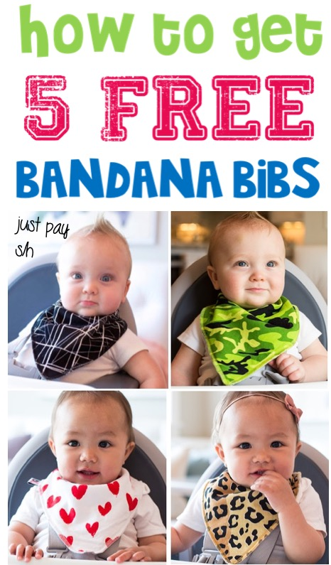 Baby Bibs! How to Get A Free Bandana Bib... Pick Your Favorite Pattern