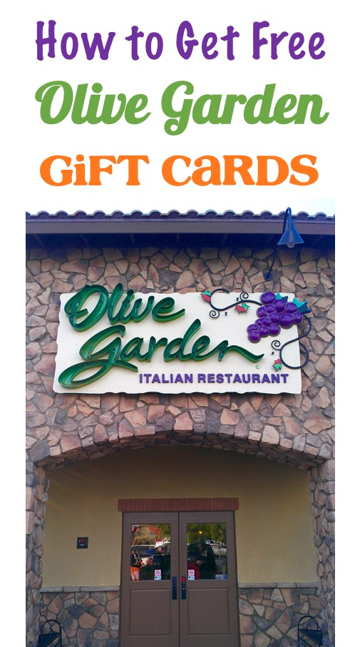 Free Olive Garden Gift Cards