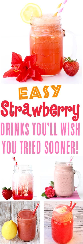 Strawberry Recipes Easy Drinks