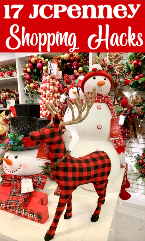 Christmas Decor Ideas for the Home - Save BIG on Bedroom and Living Room Decorations with these JCPenney Hacks