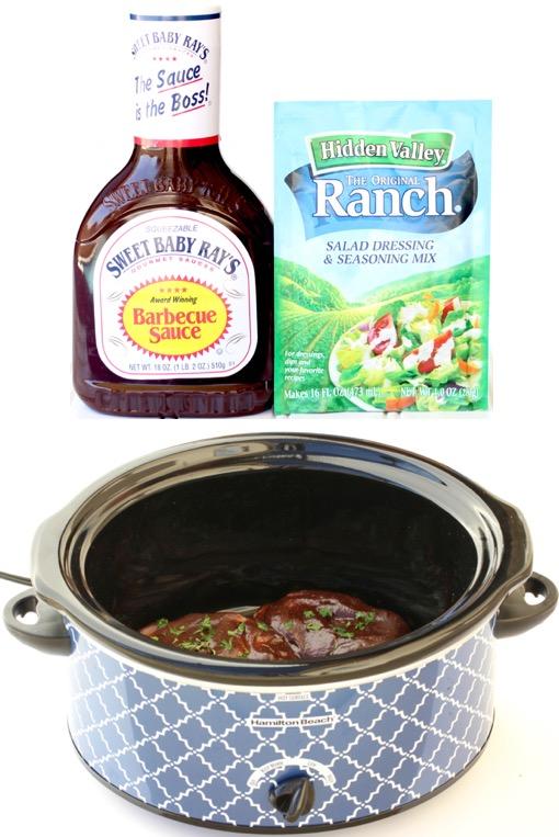 Ranch Barbecue Pork Chops Crockpot Recipe