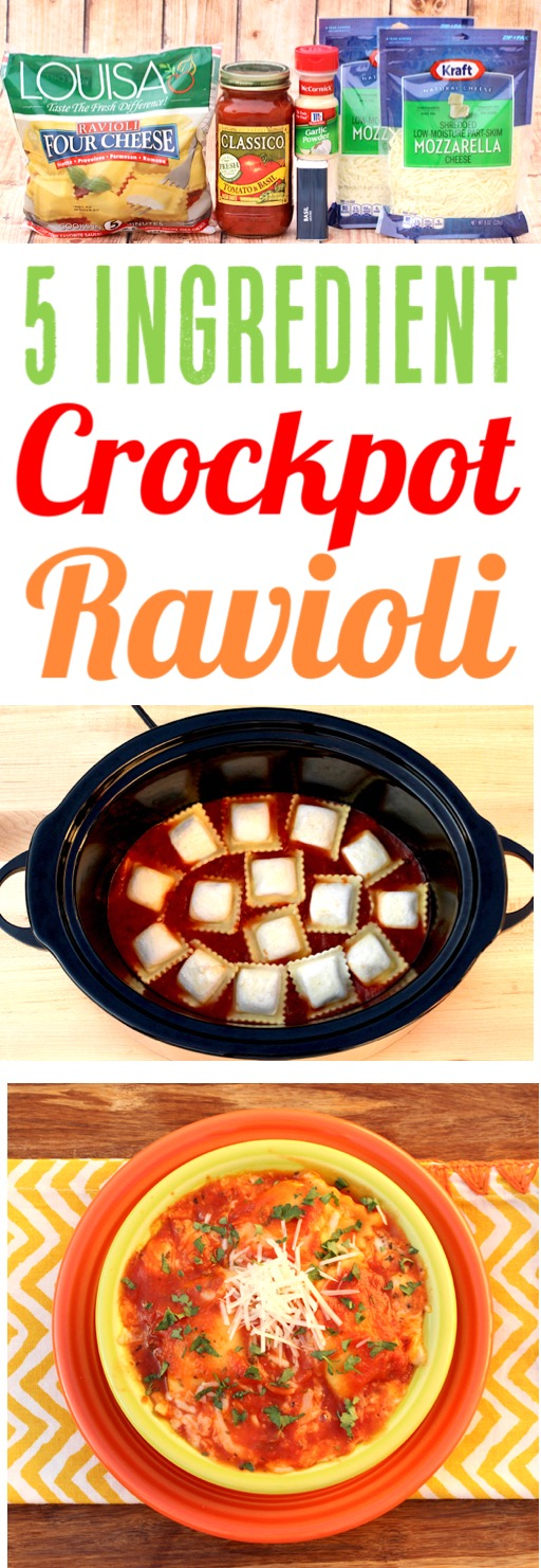 Crockpot Ravioli Casserole Easy Recipe